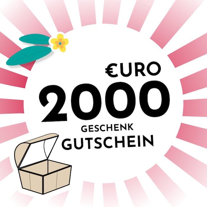 2000 € Gutschein