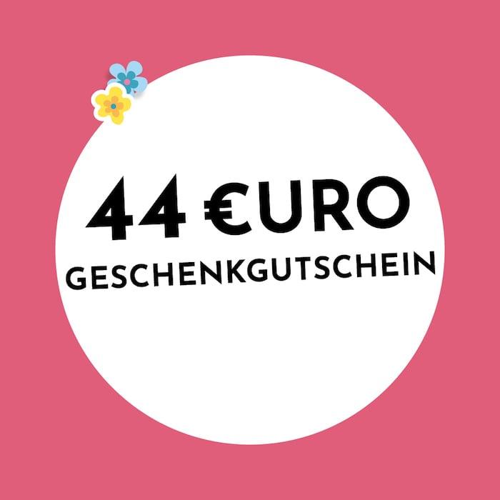 44€ Geschenkgutschein Holzkern