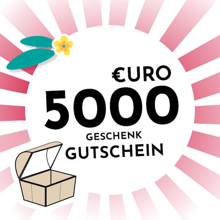 5000 € Gutschein