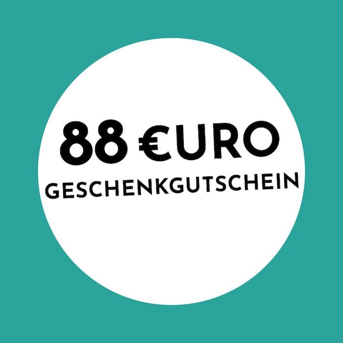 88 € Gutschein