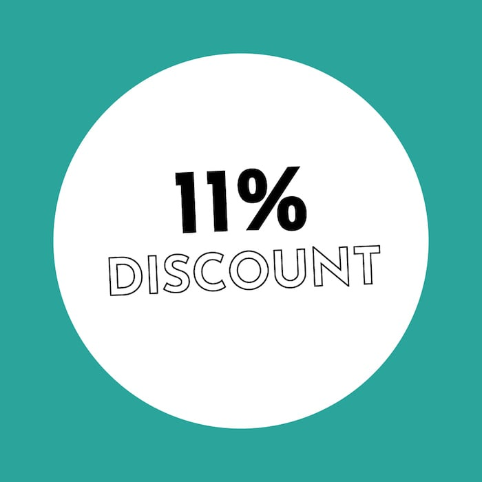 11% Discount Holzkern