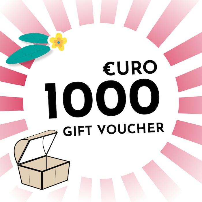 €1000 Voucher