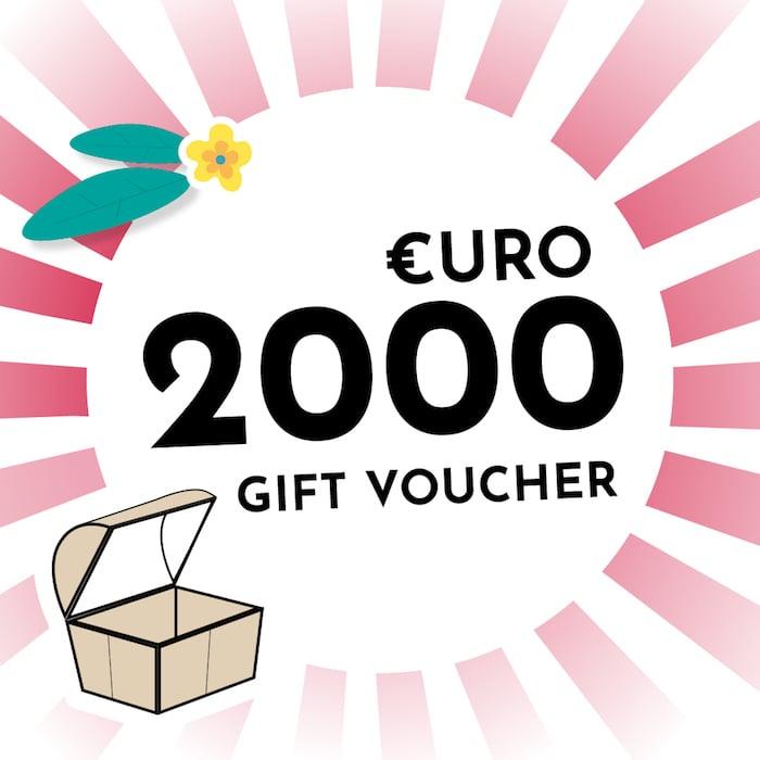 €2000 Voucher