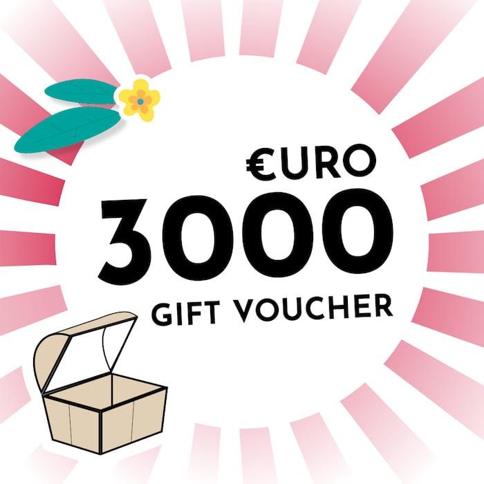 €3000 Voucher