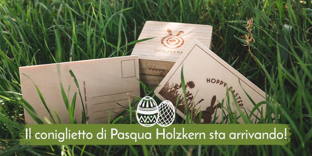 Caccia all'uovo di Pasqua con Holzkern
