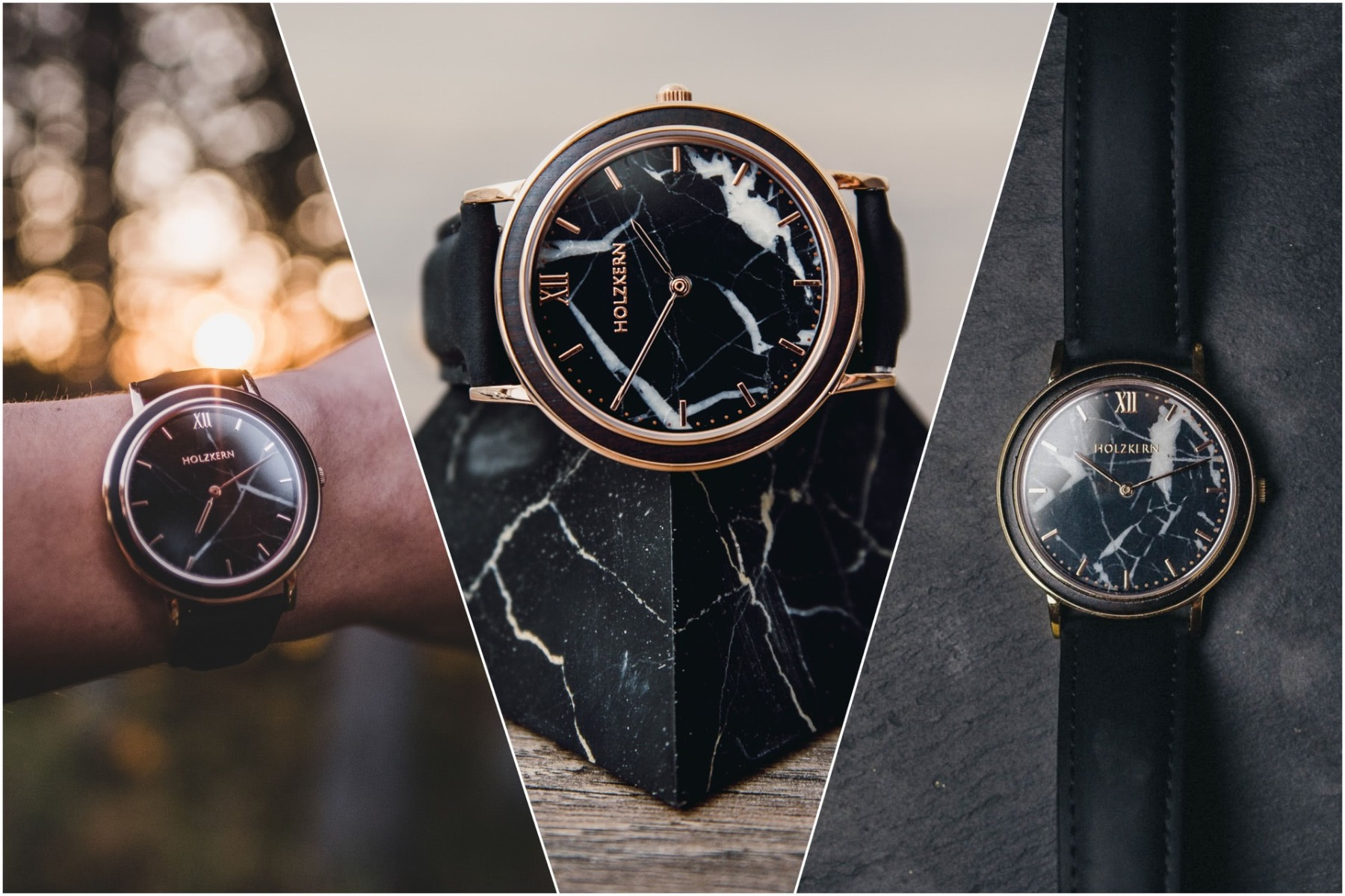 Watches made of Stone