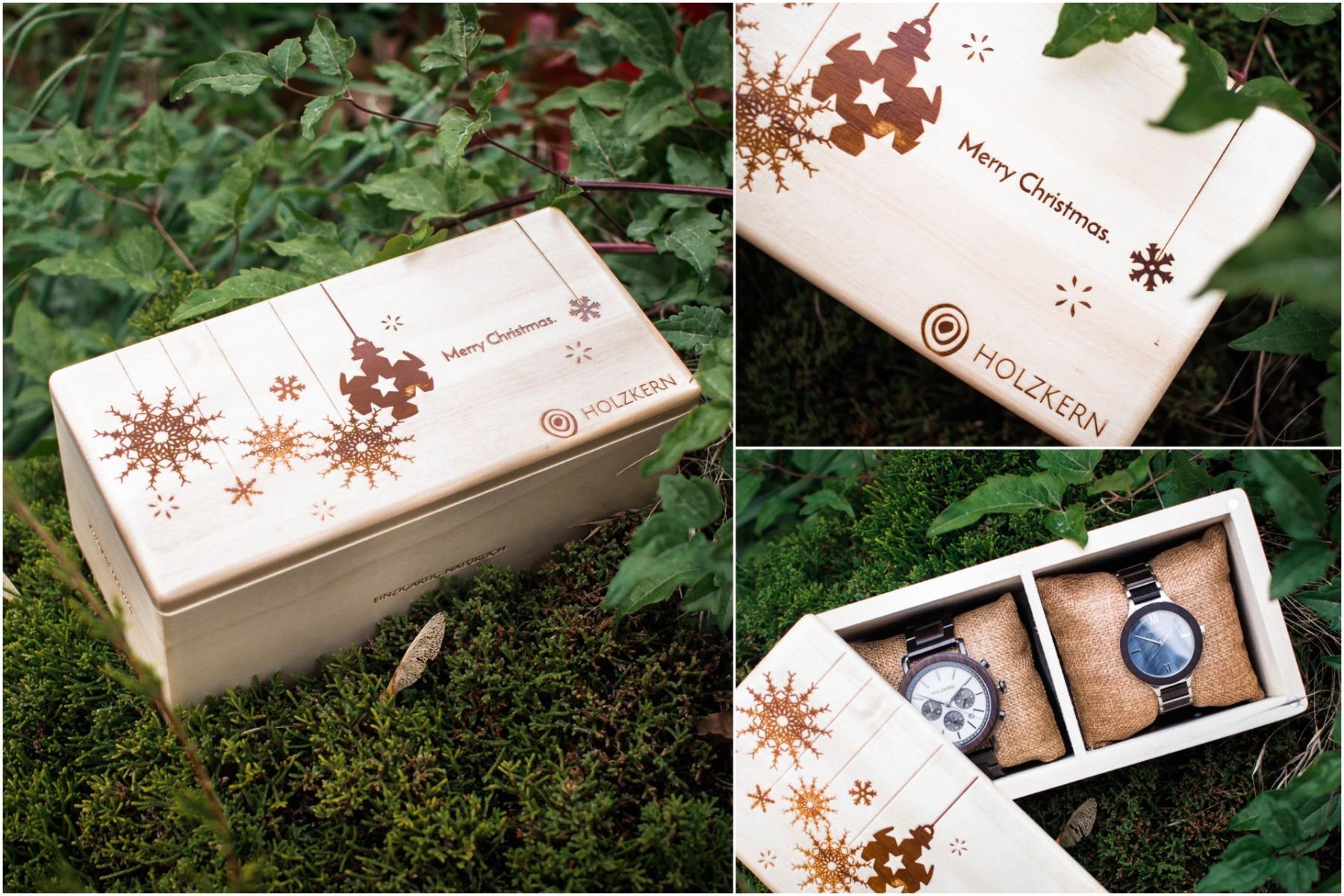 Die Holzkern Weihnachtsbox