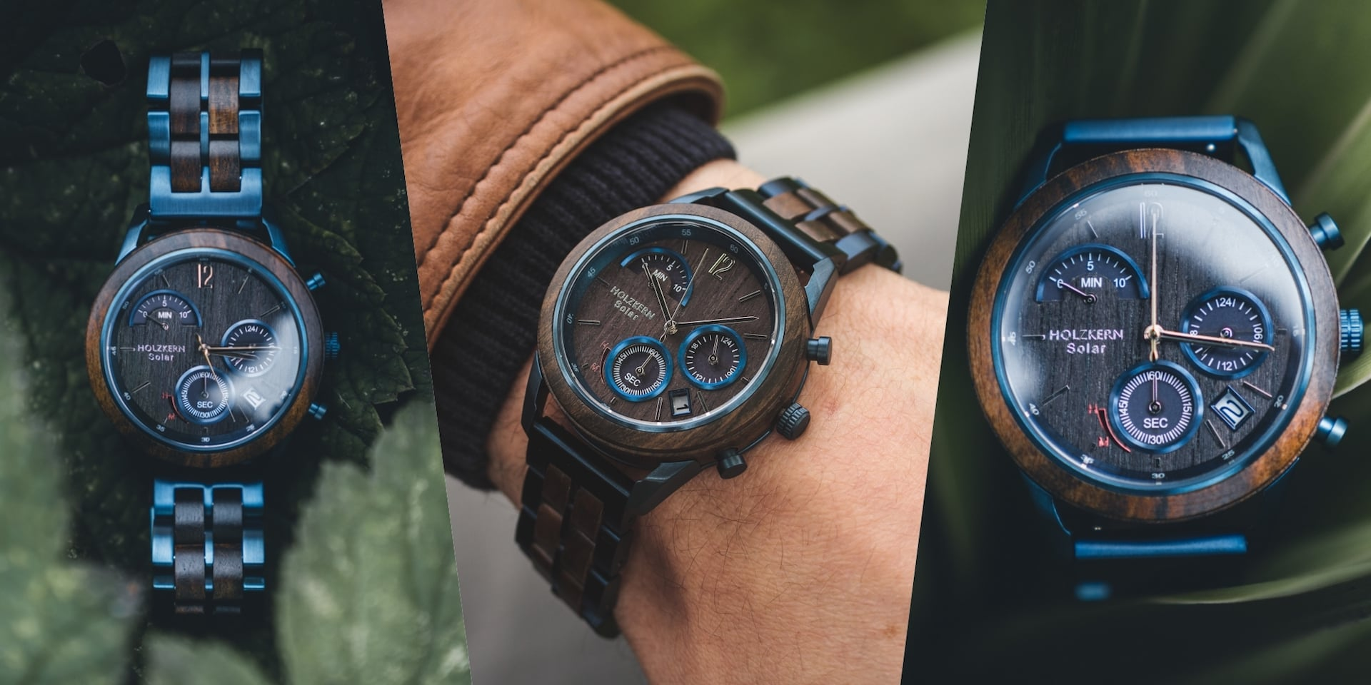 Your Holzkern Chronograph Ultraviolet