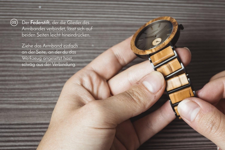 uhr armband kürzen preis