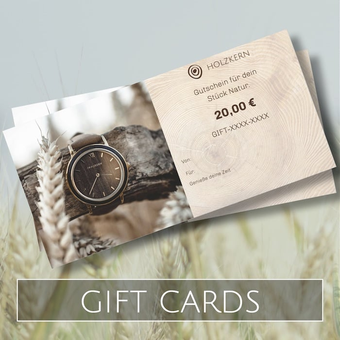 Holzkern Giftcards