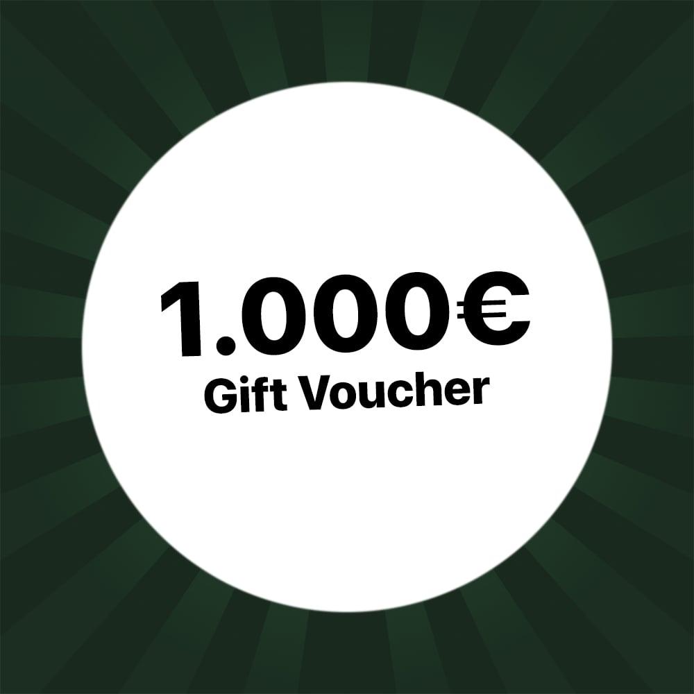 1000€ Holzkern gift voucher