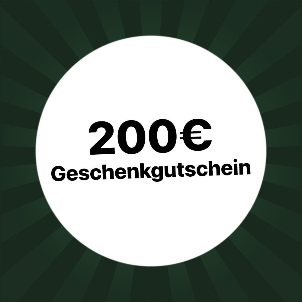 200€ Geschenkgutschein Holzkern