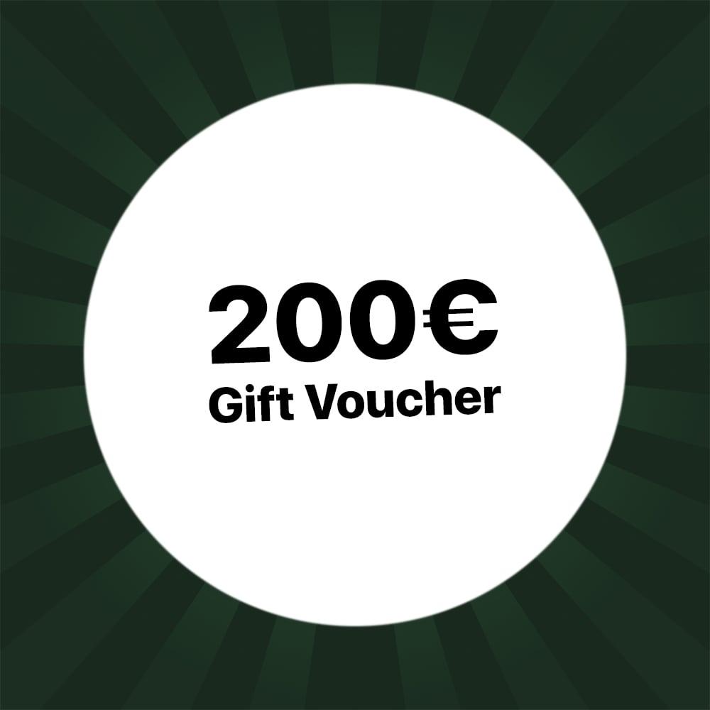 200€ Holzkern Gift voucher