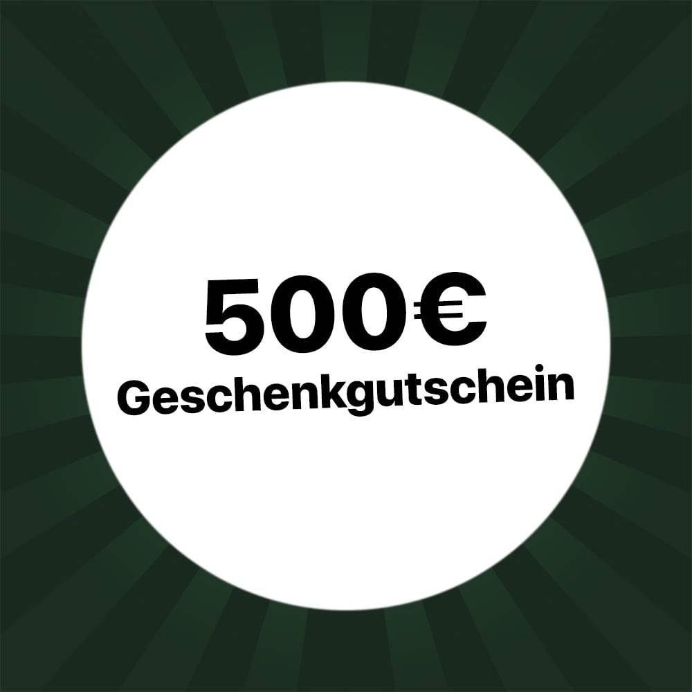 500€ Gutschein
