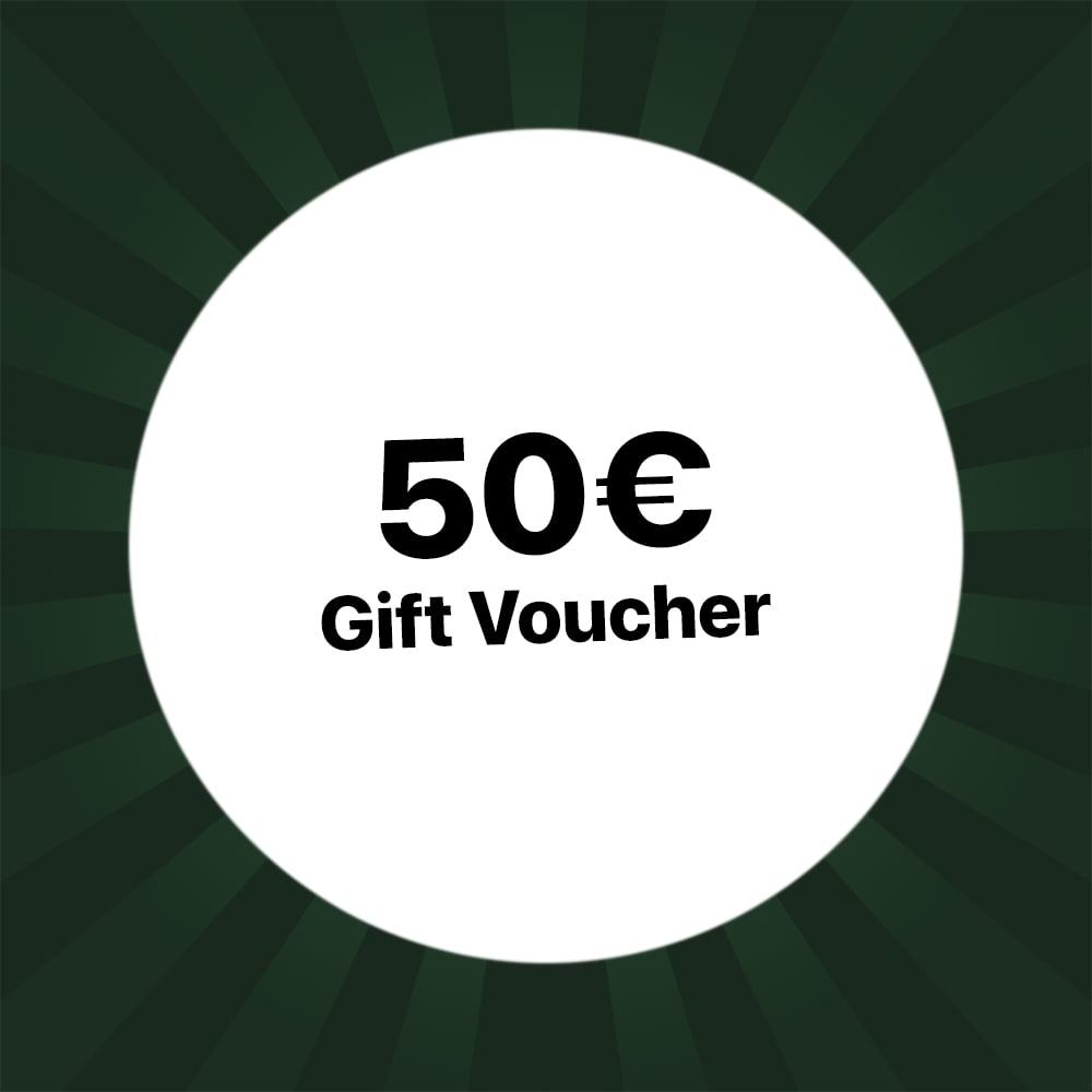 50€ Holzkern gift voucher